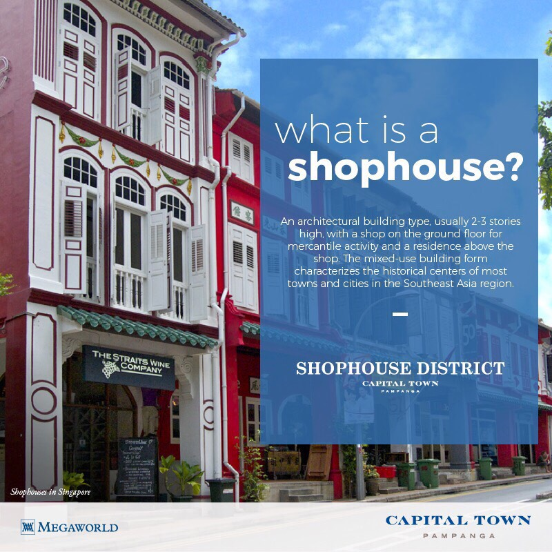 shophouse district