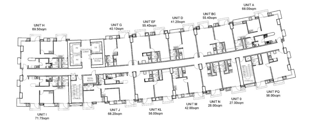 Manhattan Heights Typical Floor Plan 5th -31st