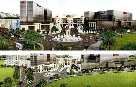 Resorts World beside Gentry Manor