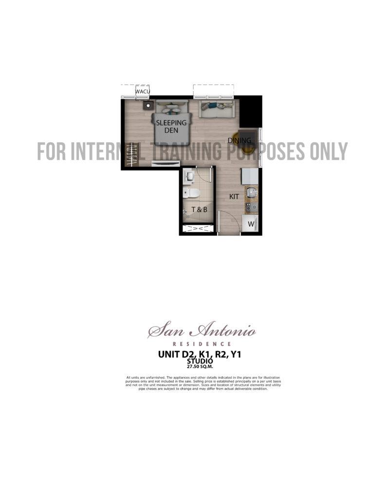 San Antonio Residence Studio 27.5 sqm