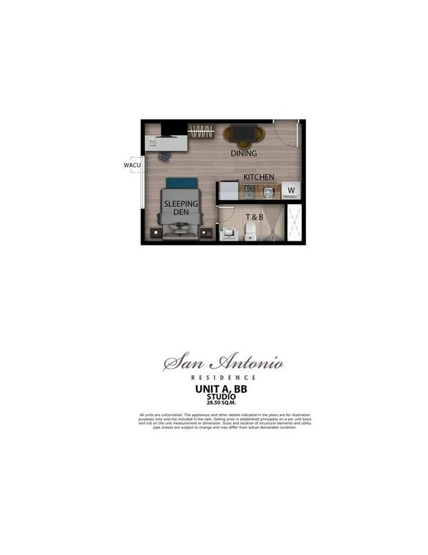 San Antonio Residence Studio 28,5 sqm