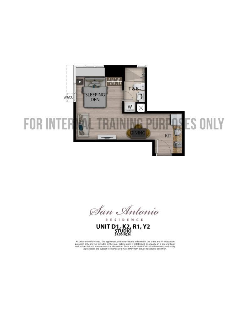 San Antonio Residence Studio 29.5 sqm