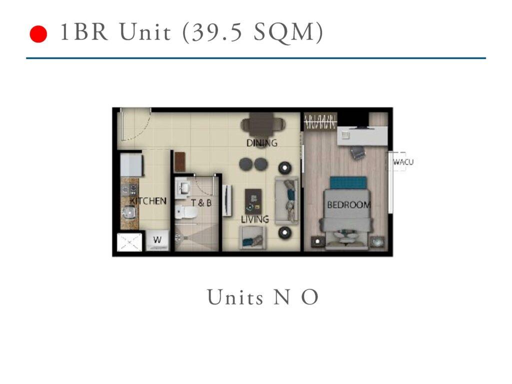 San Antonio Residence 1 Bedroom 39.5 SQM
