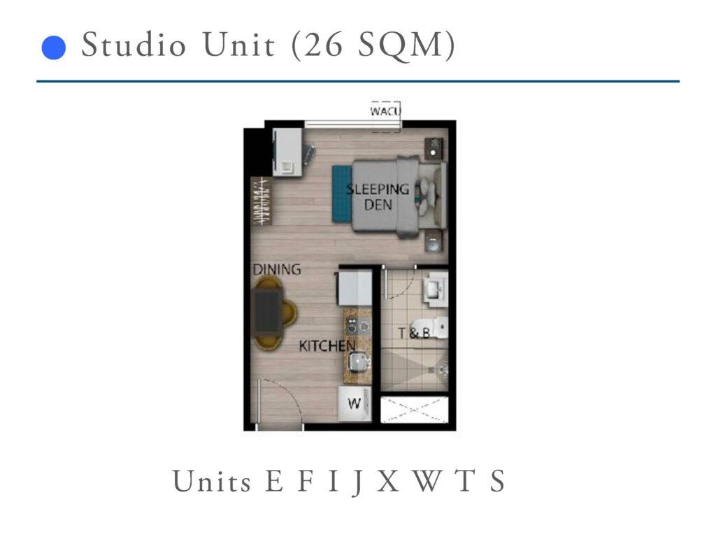 San Antonio Residence 26 SQM