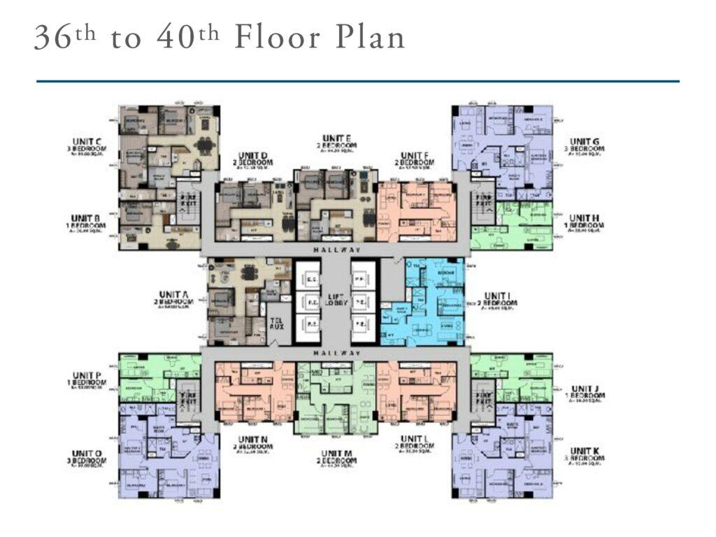 San Antonio Residence Penthouse Floor Plan