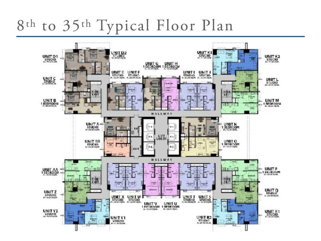 San Antonio Residence Typical Floor Plan