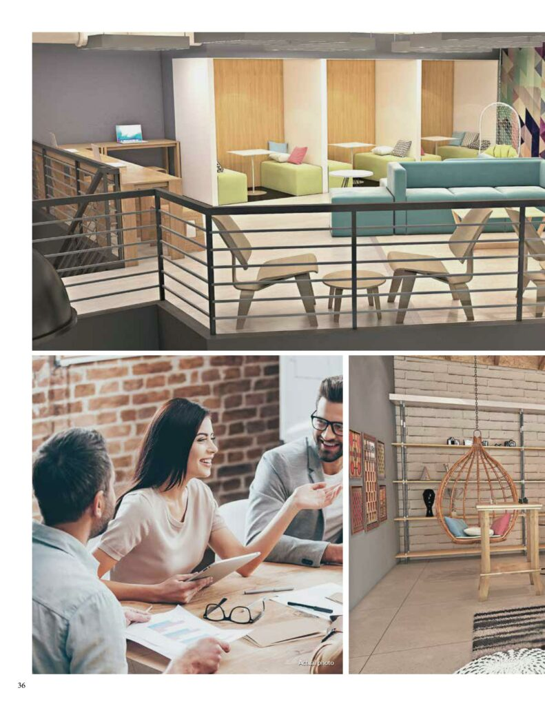 CoLab Shared Space and Pause and Play Room