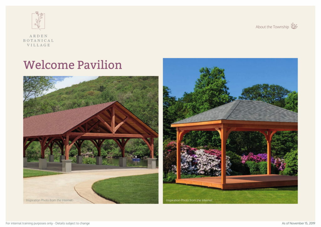 Welcome Pavilion