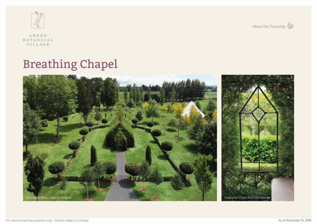 Arden Botanical Breathing Chapel