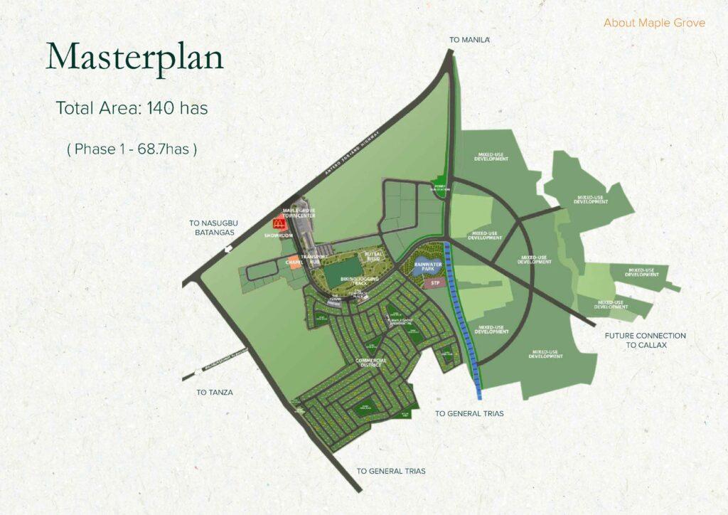 Maple Grove Cavite Masterplan