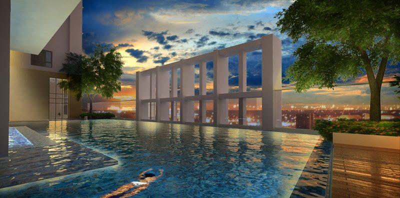 San Antonio Residence Infinity Pool